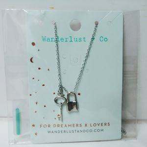 WANDERLUST +CO. SILVER DREAMERS & LOVERS NECKLACE